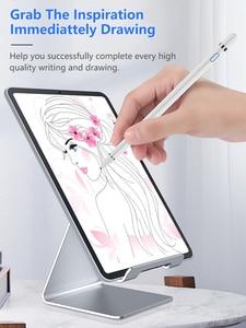 Image 5 - Evrensel Stylus dokunmatik kalem iPad Tablet cep telefonu kapasitif ekran Stylus kalem iPhone Huawei Xiaomi tabletler şarj edilebilir