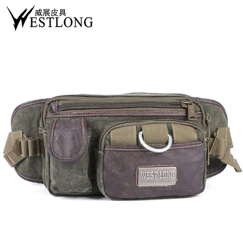 3834 Men And Women Outdoor Wallet Sports Waist Pack Casual Bag Waterproof Small Wallet