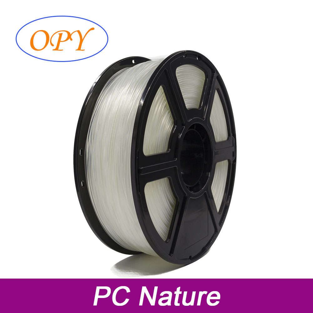 Polycarbonate Filament 3D Printer Plastic 1 75Mm 1Kg Transparent Materials 10M 100G Sample