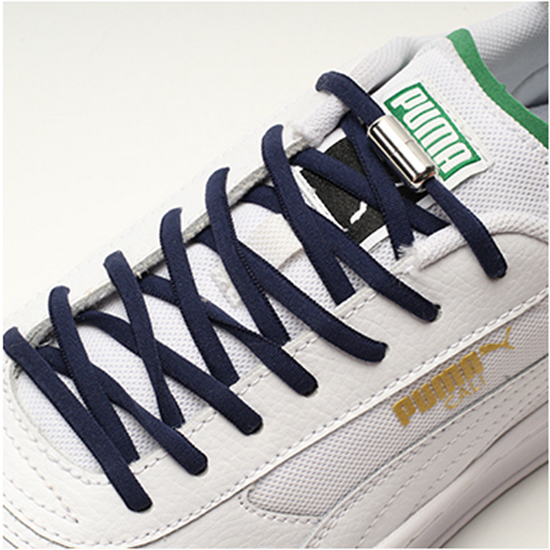 1Pair Elastic Shoelaces No Tie Locking Round Shoe Laces Kids Adult Sneakers Lazy Laces Semicircle Quick Shoelace 19 Colors