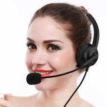 Funkcja wyciszania Call Center zestaw słuchawkowy na USB redukcja szumów zestaw słuchawkowy USB Call Center z słuchawki z mikrofonem do obsługi klienta