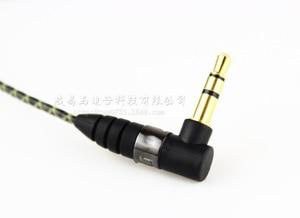 Image 3 - 1m באיכות גבוהה החלפת הארכת סטריאו אודיו כבל כבל עבור Sennheiser IE800 כלומר 800 אוזניות אוזן ניצן