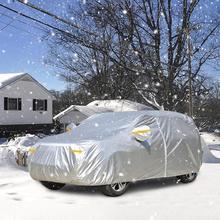 Protecteur imperméable contre le soleil et les Uv pour SUV, réflecteur dextérieur à fermeture éclair, contre la poussière et la neige, M, L, XL, 190T