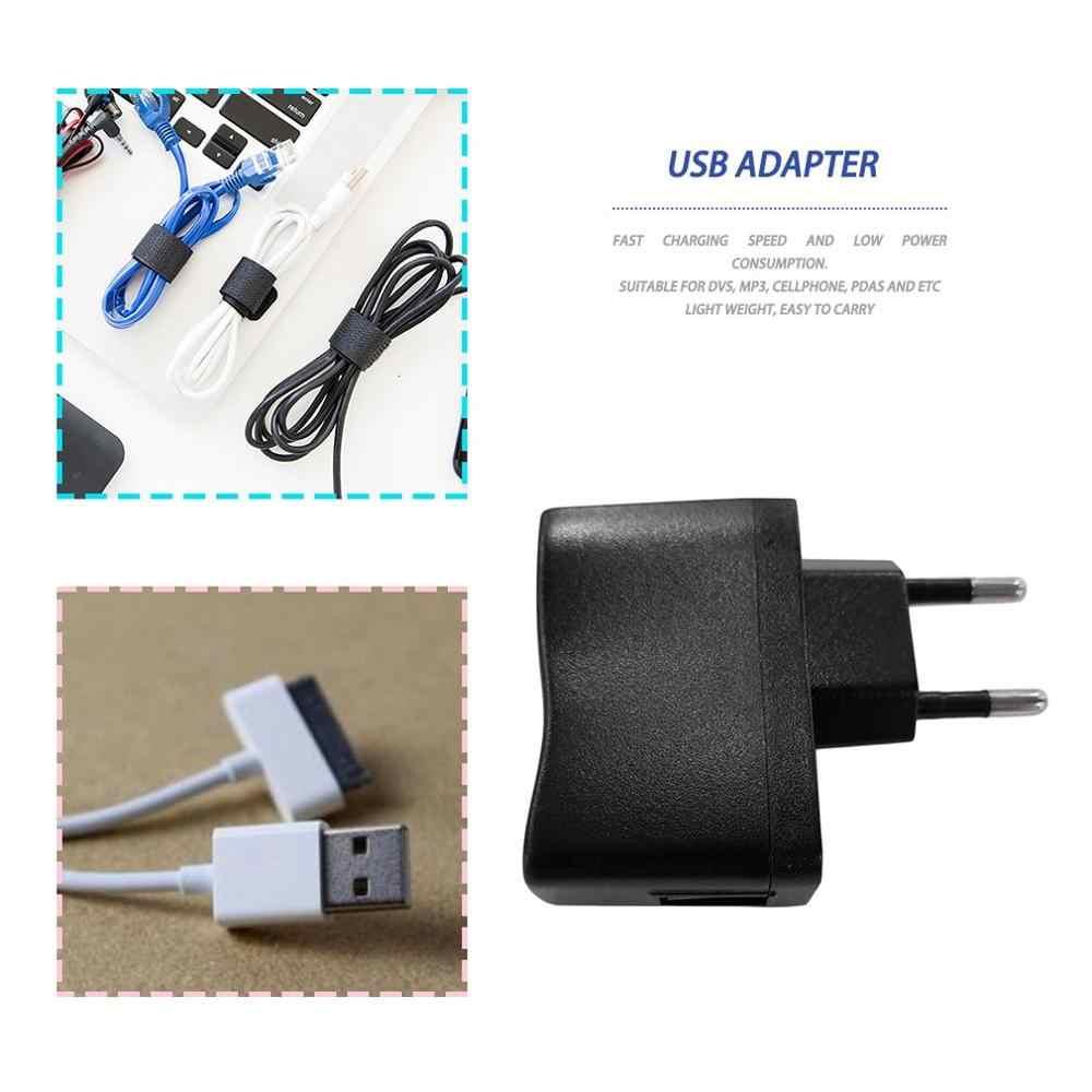 AC/DC アダプタ 1Pc の Usb Ac アダプタ MP3 充電器 AC DC 電源 EU/米国のプラグイン適切な DVs のため、 mp3 、携帯電話、 Pda