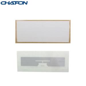 Image 2 - 1~15m read distance EPC Gen2 RFID windshield label sticker paper Alien H3 chip with 3m glue for car parking system
