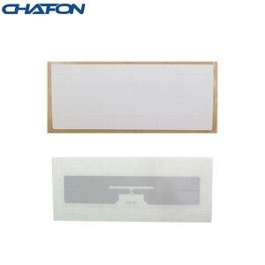 Image 2 - Chacon etiqueta rfid para parabrisas de EPC Gen2, 1 ~ 15m, 100 ~ 860 Mhz, chip Alien H3 con pegamento 3m para estacionamiento de vehículos, 960 Uds.