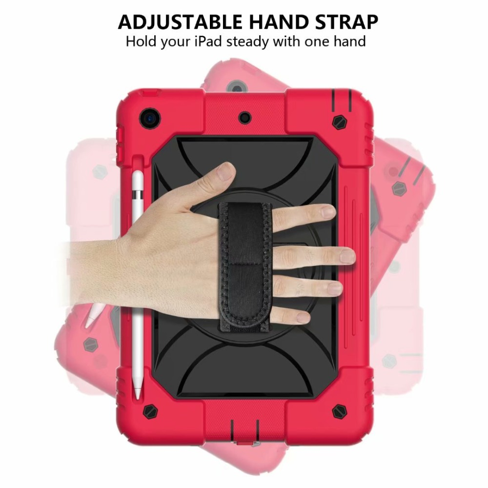 Strap Generation Hand 360 For Stand Holder Rotating For Pencil 7th iPad Case iPad Cover
