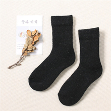Winter Socks Thick Cashmere In Tube Solid Color Very Ladies High Quality Terry Female Autumn and Warm