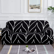 Elastic Sofa Slipcovers Modern Sofa Cover for Living Room Sectional Corner L-shape Chair Protector Couch Cover 1/2/3/4 Seater