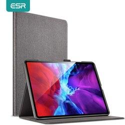 ESR for iPad Pro 2020 Case 12.9 Oxford Cloth Back Stand Auto Sleep/Wake Smart Case for iPad Pro 2020 11 12.9 inch Cover Funda