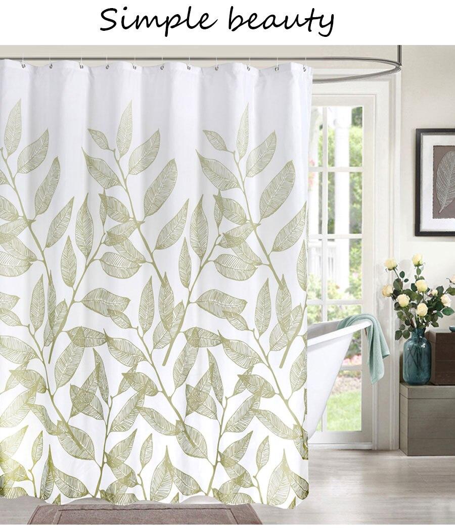 simples elegante cortina para banheiro alta qualidade