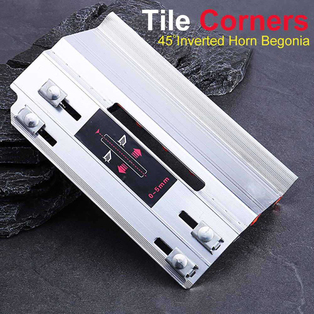 Tile 45 Degree Angle Cutting Helper Tool Aluminum Alloy Multifunctional Accessories SEP99