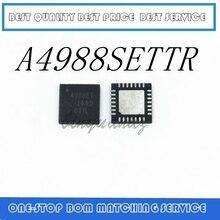 5 個 10 個 20 個 a4988settr t 3D プリンタチップドライバ: A4988 QFN28 オリジナル製品 4988ET A4988SETTR T A4988ET QFN28