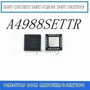Image 1 - 5PCS 10PCS 20PCS a4988settr t 3D drucker chip fahrer: A4988 QFN28 original Produkt 4988ET A4988SETTR T A4988ET QFN28