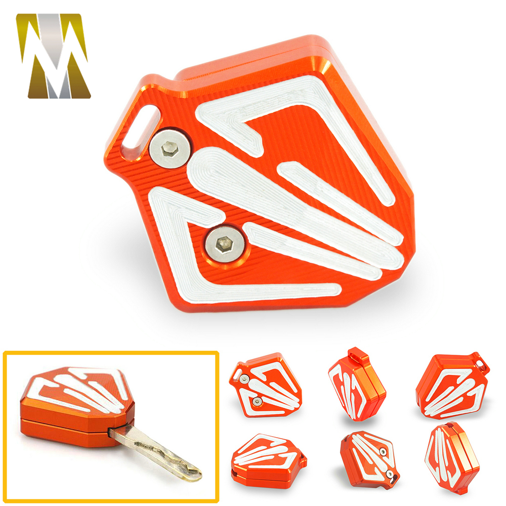 For <font><b>KTM</b></font> <font><b>DUKE</b></font> <font><b>390</b></font> <font><b>2017</b></font> 2018 Motorcycle Key Case Shell Protector Accessoreis for <font><b>KTM</b></font> 125 200 250 2013-2016 Motor Key Case Cover image