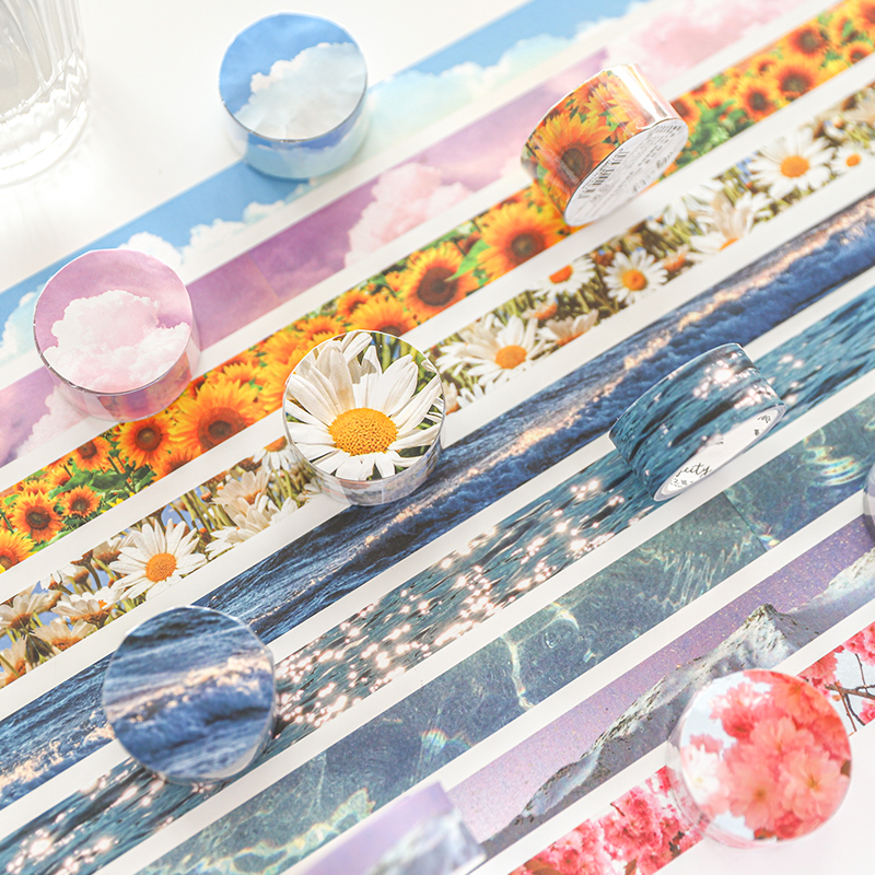 Hot Discount Bfe38 Wild Fantasy Story Series Washi Tape Flower Adhesive Tape Diy Scrapbooking Sticker Label Japanese Masking Tape Cicig Co,Personal Paper Shredders Walmart