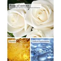 Whole Sale AILKE Brand Private label SPA works perfumed Rose scrub Sakura shower gel body wash for women Bath And Whitening 2
