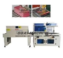 Semi Automatic POF Film Sealer Carton Box Case touch screen Bar Sealing Heat Shrink Tunnel Wrap Packaging Machine