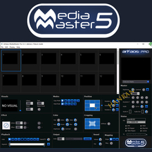 ARKAOS Mediamaster pro 5.1.1DMX Software stage light controller console for disco light moving head ARKAOS 5.1.1 dongle