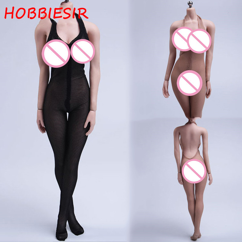 4 Colors 1/6 Scale <font><b>Sexy</b></font> Female Onesies Clothe Women Erotic Underwear Clothing Suit Set Model F 12'' Action <font><b>Figure</b></font> Body Fans Gift image