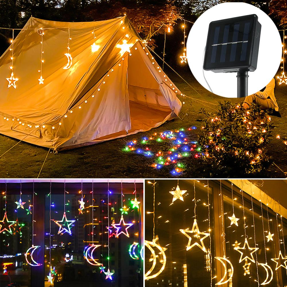 Solar Powered Strip Light Ornament Light-emitting Diode Outdoor emitting-color: Multicolor|Warm Light  https://flxicart.com