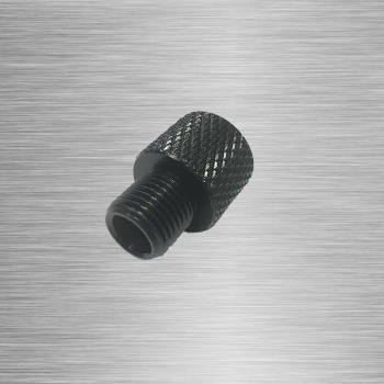 Barrel End Threaded Adapter Female 1/2-20 UNF To Male 1/2-28 UNEF Or Female 1/2-28 UNF To Male 1/2-20 UNEF