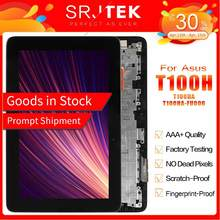 For ASUS Transformer Book T100H T100HA T100HA-FU006T LCD Display Touch Screen Assembly with Frame FP-ST101SI010AKF-01X Parts(China)