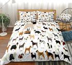 Dogs Duvet Cover Set...
