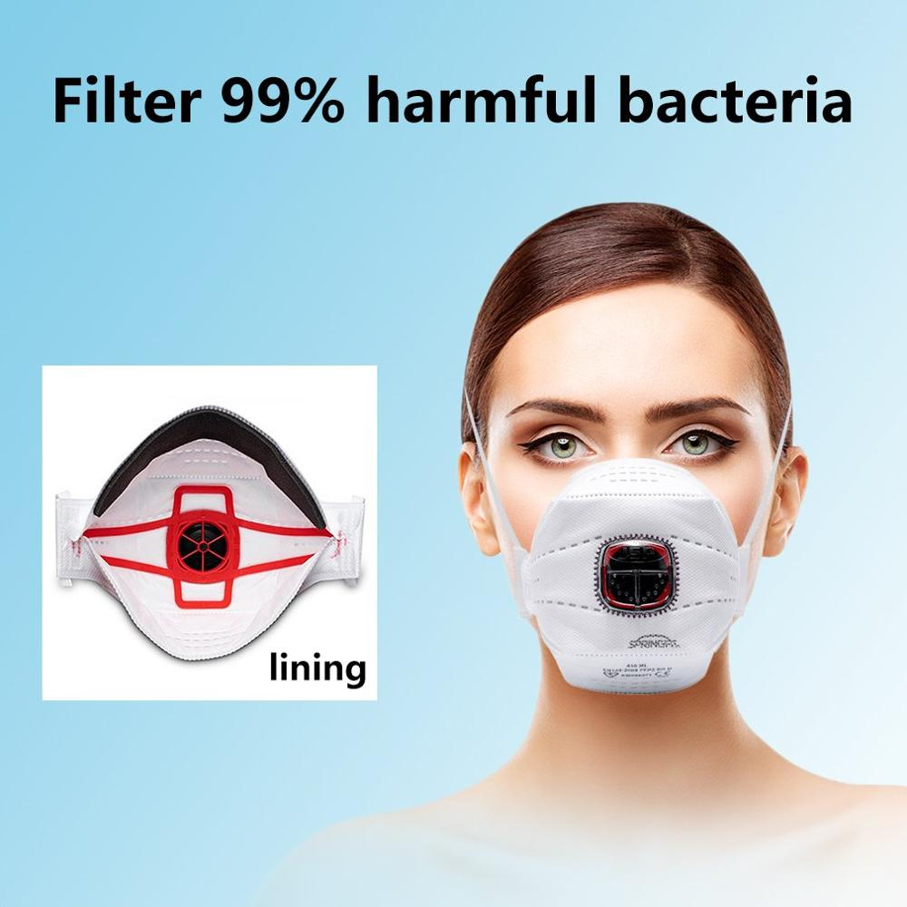 Anti-fog Mask And Dust-proof Mask FFP3 Cotton Anti Pm2.5 / Anti-Smoke Mask Face Protective Masks For Man And Woman 1/2/3/4/5PCS