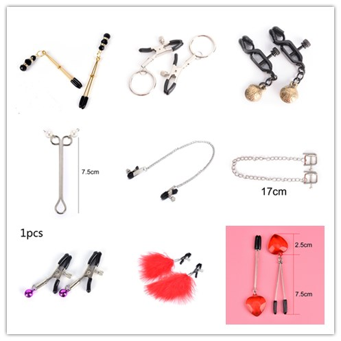 Woman Sexy Nipple Clamps Exotic Accessories Female Breast Nipple Clamps For Couple Breast Clip