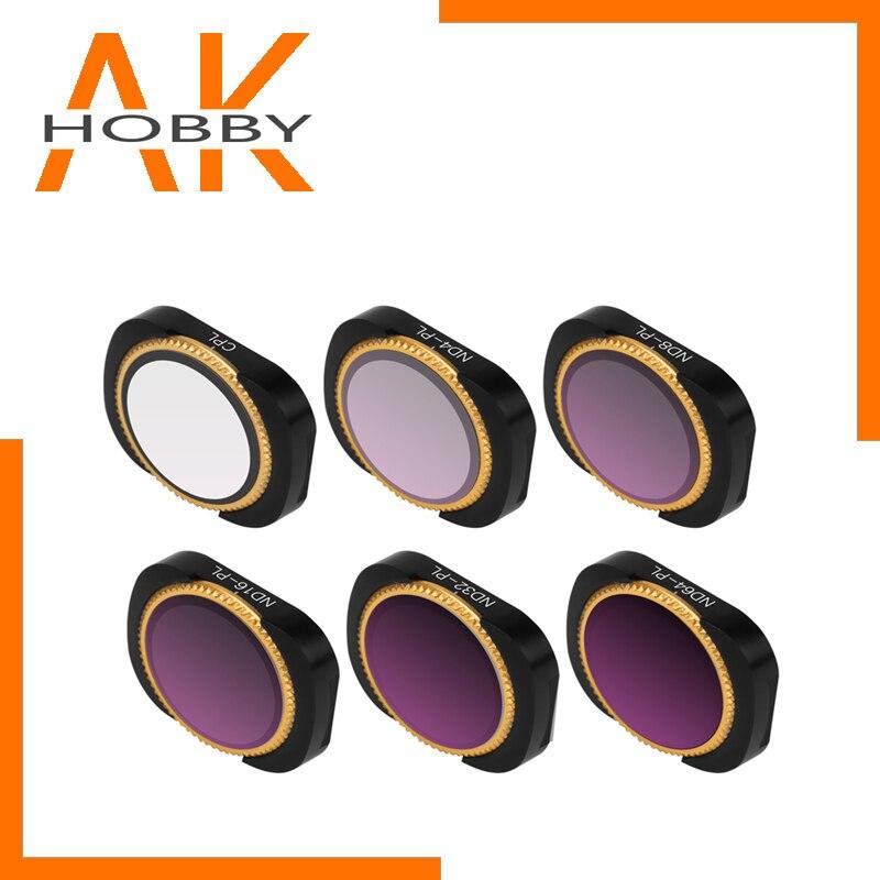 Magnetic Lens Filter UV CPL ND-PL Neutral Density ND4 ND8 ND16 ND32 Filter for DJI OSMO POCKET Stabilizer Handheld Gimbal Camera