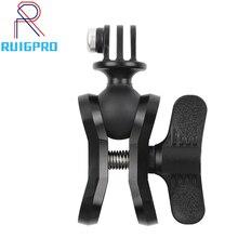 Aluminium akcesoria do kamery CNC nurkowanie piłka oprawa światła ramię piłka motyl klip potrójne mocowanie zaciskowe Adapter do Gopro 5 6 7 8 9