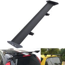 Samger – aileron de course universel en aluminium, 43 ''/110cm, réglable, aile de coffre arrière GT, noir argent, pour hayon, livraison depuis l'ue