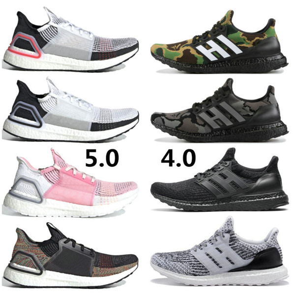 2020 High Quality Ultraboost 20 3.0 4.0 Running Shoes Men Women Ultra Boost 5.0 Runs White Black Athletic Shoes Size 36-47