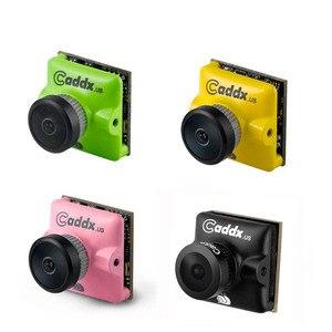 "Image 1 - Caddx 터보 마이크로 F2 1/3 ""CMOS 2.1mm 1200TVL 16:9/4:3 NTSC/PAL 저 지연 FPV 미니 카메라 4.5g RC 모델 업그레이드 Caddx F1"