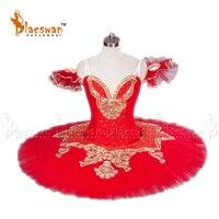 Red Pancake ballet tutus Yellow Girls Classical ballet tutu performance ballet tutu Costumes BT649 Red Professional Ballet Tutu