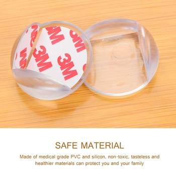 10pcs Baby Safety Table Corner Protector Transparent Anti Collision Angle Protection Cover Edge Corner Guard Child Security Home 3