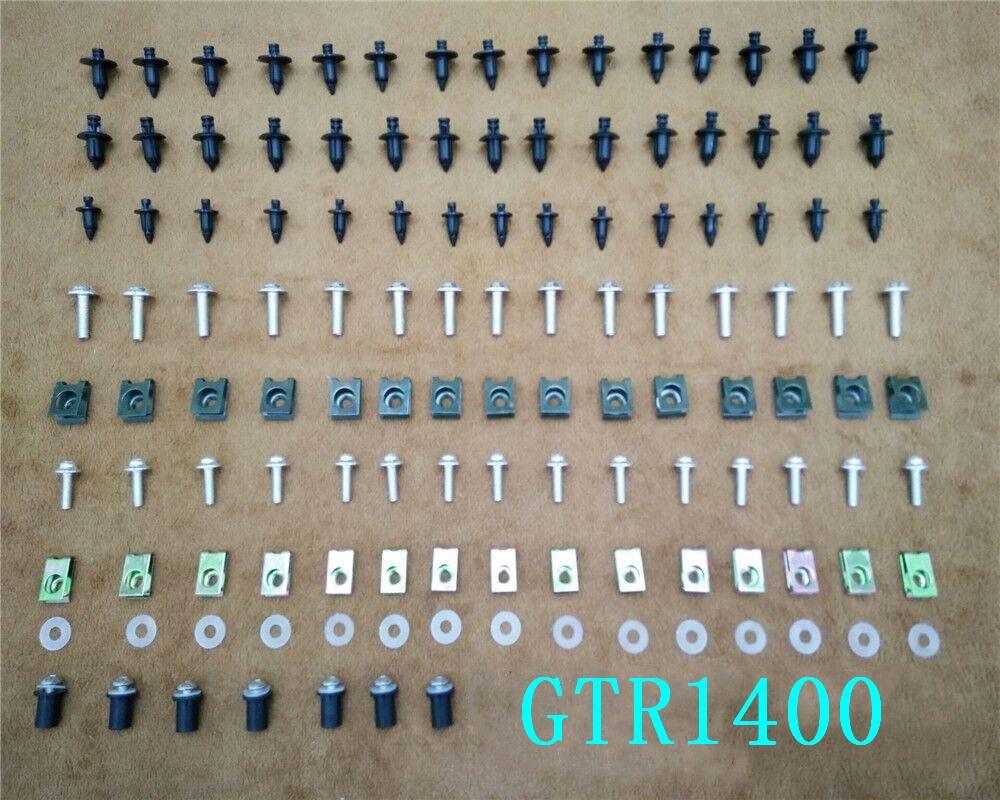 Комплект обтекателей болты для кузова винты для Kawasaki GTR1400/мини 2007-2017