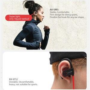 Image 4 - สำหรับ BlitzWolf AIRAUX AA UM2 TWS bluetooth5.0 กีฬาหูฟังสเตอริโอ HIFI หูฟังกีฬาหูฟังพร้อม Braid CHARGING Case