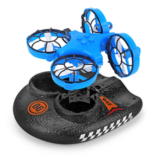 Rc Helicopter 6ch Drone With Camera Hd Wifi Fpv Mini Rc Helicopter Nitro Water And Air Quadrocopter With Camera Rc Drone Blue