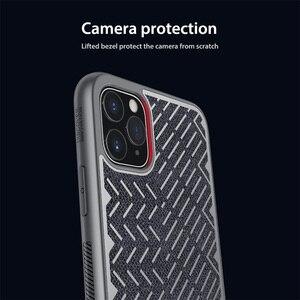 Image 4 - Dla iPhone 11 Pro Max Case 5.8 6.1 6.5 NILLKIN w jodełkę lekka odblaskowa poliestrowa wodoodporna tylna pokrywa dla iPhone11