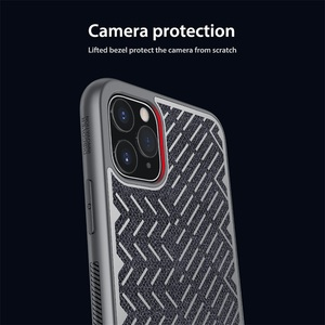 Image 4 - For iPhone 11 Pro Max Case 5.8 6.1 6.5 NILLKIN Herringbone Case Light Reflective Polyester Waterproof Back Cover for iPhone11