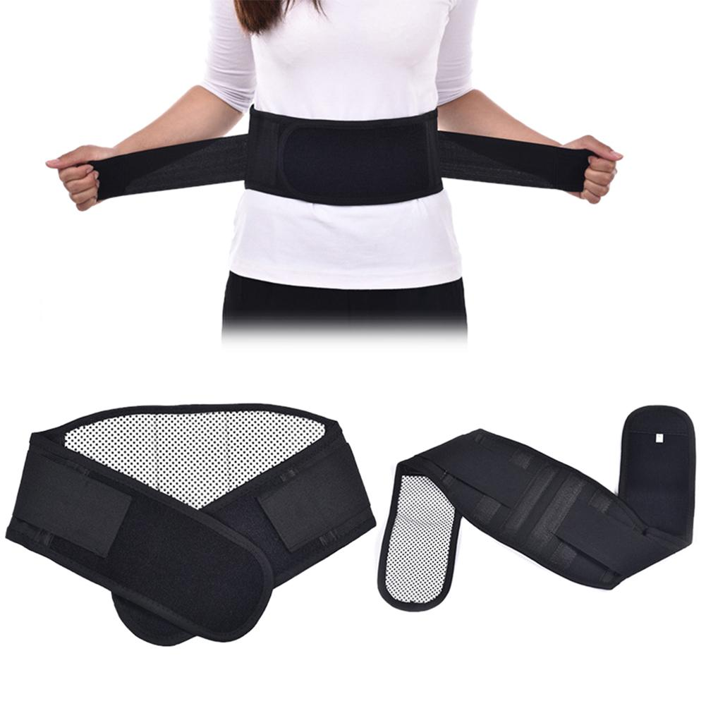 Magnetic Heat Belt Back Brace Lumbar Belt Self-heating For Pain Relief Injury Prevention Brace Health Care Pain Relief Tool New
