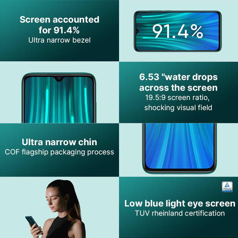 Globale Versione Xiaomi Redmi Nota 8 Pro smartphone 6GB 64GB 128GB MTK Heilo G90T Del Telefono Mobile 64MP quad fotocamera NFC 18W di carica