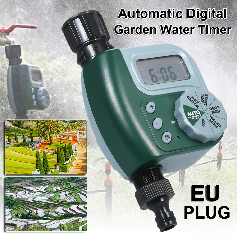 Garden Watering Timer Irrigation Controller plastic Programmable Automatic Electronic Home Hose Faucet Autoplay Dropshipping