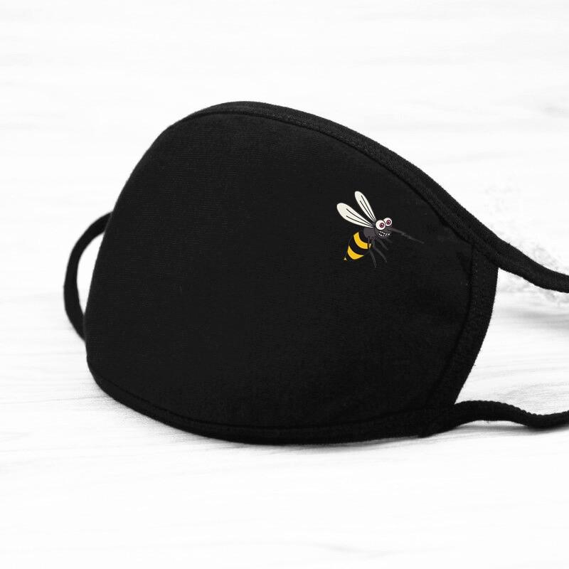 1/pcs Mens Autumn Spring Cute Kawaii Print Masks Men/Women High Quality Anti Dust Breathable Warm Windproof  Masks