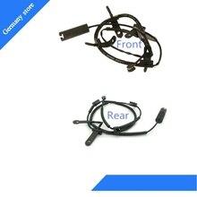 Один комплект передний+ задний износ тормозных колодок Сенсор для B MW MINI R50 R52 R53 OEM: 3435 6761 447 34356761447 3435 6761 448 34356761448
