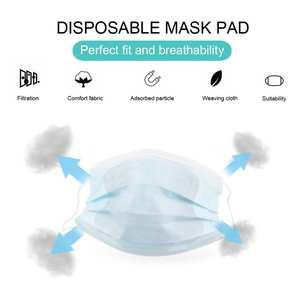 MASK-FILTER Face-Masks Health-Care Anti-Dust Mouth-Muffle Windproof -10/20/50pcs
