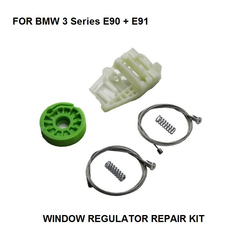 FOR BMW E90 E91 WINDOW REGULATOR REPAIR KIT REAR RIGHT Onwards 2005