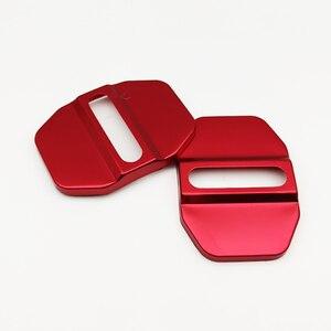 Image 4 - 5 estilos fechadura da porta do carro capa protetora decoração acessórios para mercedes benz e b c m ml slk glk w205 w166 w203 w204 w245